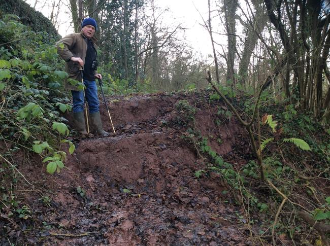 Kingswood path subsidence (2)